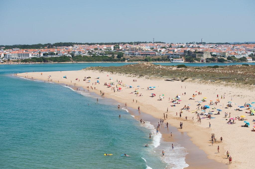 Praia das Furnas Verão - Vista Aérea