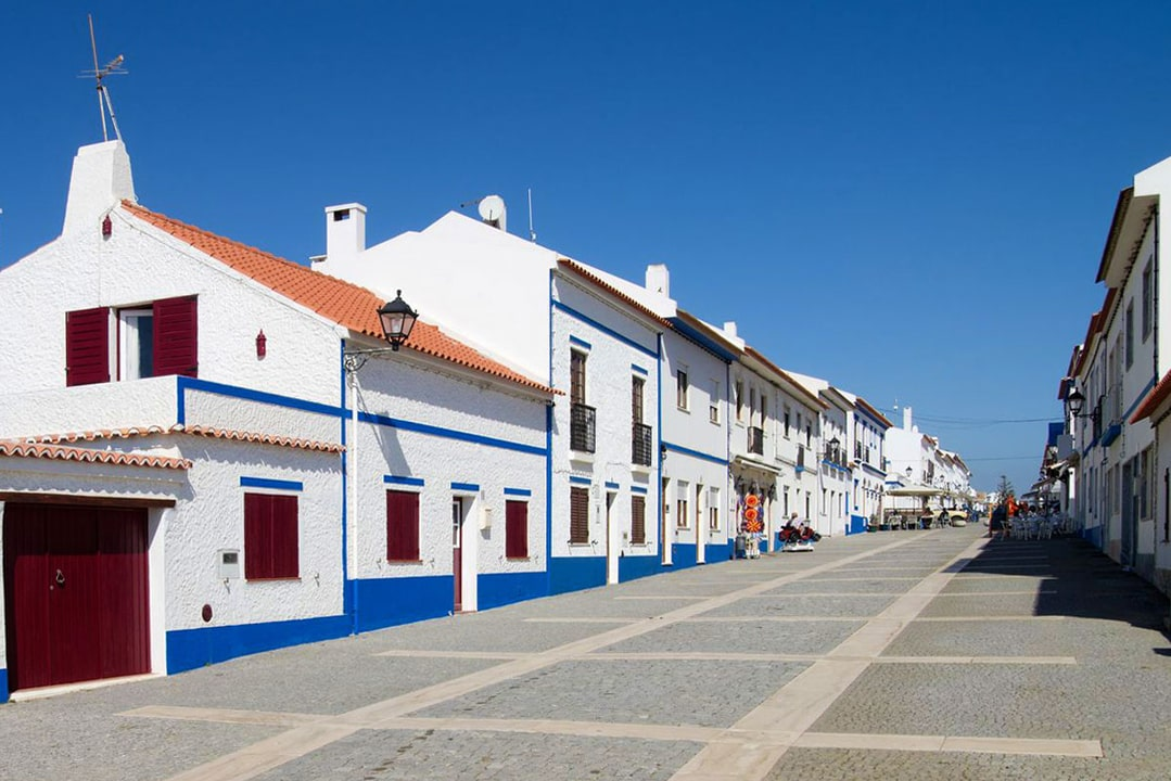 rua principal porto covo